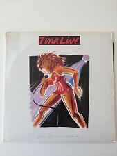 "TINA TURNER - TINA LIVE IN EUROPE, A GATEFOLD DOUBLE 12"" VINYL LP, ESTD1 (1988)"
