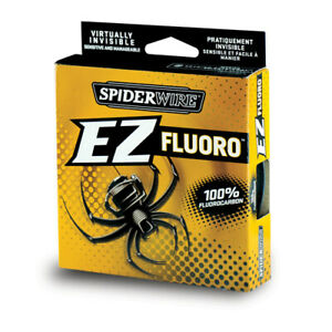 Spiderwire EZ Fluorocarbon Fishing Line Filler Spool 10lb 200yd Clear 1260819
