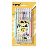 Bic Xtra Sparkle Mechanical Pencils - #2 Pencil Grade - 0.7 Mm Lead Size - Black