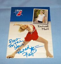 Rachael Flatt Signed Autographed Photo Olympic Figure Skater