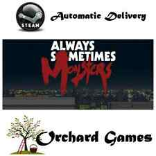 Always Sometimes Monsters : PC MAC LINUX : Steam Digital : Automatic Delivery