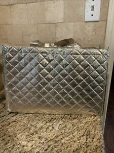 Gold Tote Bag- Set Of 3 Reusable Totes