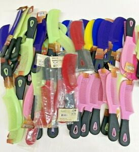Huge lot of 50 TOUGH 1 Mane Combs Horse Pony Grooming Tool - Resale, Prize, Gift