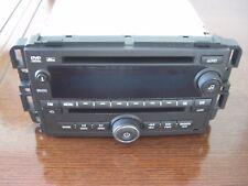 2007-2011 GM CHEVY GMC HUMMER Radio Dvd CD Player Aux MP3 Am/Fm Radio 15923583
