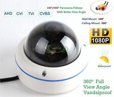 1x 700TVL CCTV Fisheye Analog Panoramic Mini Vandal camera 360 Degree Wide Angle