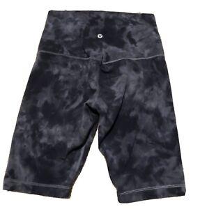Lululemon Camo Gray Shorts 8 Long Length
