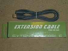 MICROSOFT XBOX 360 Wired Controller Pad Breakaway Cable de extensión plomo NUEVO