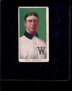 1909 T206 #344 Gabby Street Portrait VG X2058298