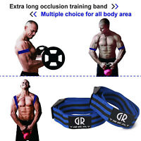 1Pc Biceps Muscle Training Bands Knee Wrap Bands Blood Flow Restrict