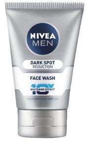 Nivea Men Dark Spot Reduction Face Wash (10X whitening), 100gm x 2 pack