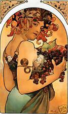 Art NouveauPrint  ' Fruit ' by Alphonse Mucha
