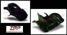 NEW HONDA TRX 300EX TRX 250X BLACK PLASTIC RACE FRONT AND REAR FENDER SET