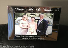 Personalised S/plated Portrait Photo Frame 4 X 6 Mummy & Me Mothers Day Gift