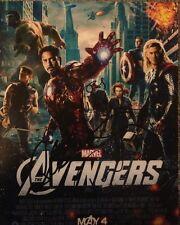 Joss Whedon Chris Evans Ruffalo HIDDLESTON Avengers Signed 8x10 Photo Proof COA