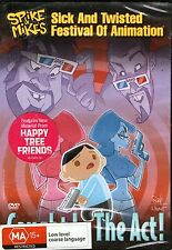 SPIKE & MIKE'S-Caught In The Act DVD-Region Free-BRAND NEW-Happy Tree Friends