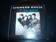 Crowded House It's Only Natural Sample Promo Australian Card Sleeve CD