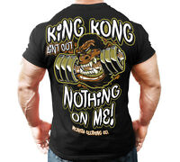 New Men's Monsta Clothing Fitness Gym T-shirt - King Kong