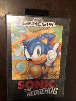 Sonic the Hedgehog (Sega Genesis, 1991) Retail Version, Complete In Box w/Manual
