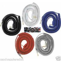 VOX VCC090 VINTAGE COILED CABLE- 9 METRES (29.5') LONG - WITH CARRY BAG - NEW