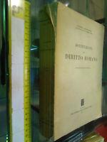 LIBRO:Istituzioni di Diritto Romano di Vincenzo Arangio-Ruiz Jovene 1957