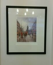 HENDERSON CISZ FRAMED MOUNTED PRINT GICLEE ON PAPER WHITEHALL LONDON LIMITED EDN