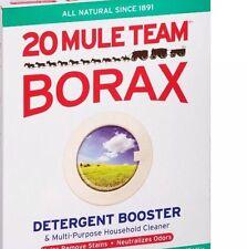 BORAX 20 MULE TEAM LAUNDRY BOOSTER 2 oz Ounces Sodium Tetraborate USA