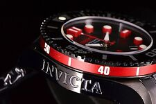 Invicta 47mm Grand Diver Gen II Automatic Charcoal Red Accents/Bezel SS 3D Watch