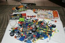 Knex Occ Paulies Supper Stretch Bike Plus Large Lot Of Assorted Pieces