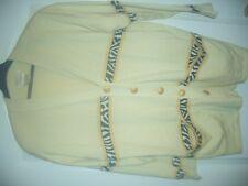LUXUS COUTURE ESCADA FEIN STRICK Jacke knit LEO Gold Animal 40/42 NP920,-Seide