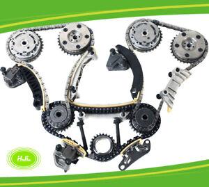 TIMING CHAIN KIT For ALFA ROMEO 159 Spider Brera JTS 939A0 3.2L w/4 VVT Gears