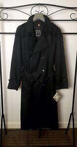 Christian Dior Monsieur NEW Trench Coat Wool liner 40R Designer Rain Repellent