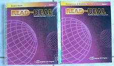 Zaner Bloser ZB Read for Real,Level F gr.8/8th NEW TE,CD,Masters book-Nonfiction
