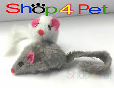 Cat Toy Mice, x2 with Cat Nip, Cats have hours of fun with this realistic mice
