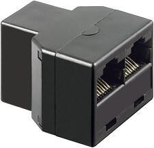 rj45 utp y-verteiler netzwerk splitter patch kupplung lan isdn ethernet adapter