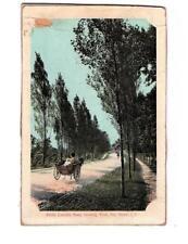 SOUTH COUNTY RD, BAYSHORE, WEST, NY 1910  LI  NEW YORK POSTCARD NEVER USED