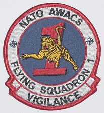 Patch Patch otan control aéreo Flying Squadron 1 Vigilance (azul oscuro)... a4383k