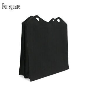 New Canvas Fabric Inner bag Insert Pocket Zip Top for Obag O Square O Square bag