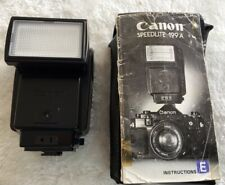 CANON SPEEDLITE 199A FLASH * FOR A-1 AE-1 35MM FILM CAMERAS ETC * FULLY WORKING