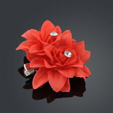 Hot Popular Bridal Flower Crystal Hair Clip Wedding Bridesmaid Party Accessories