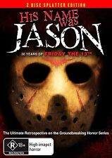 His Name Was Jason - 30 Yrs Of Friday The 13th (DVD 2-Disc Set (AUS) NEW/SEALED