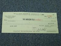 Bucky Dent Signed Autographed Cancelled Check