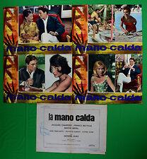 H03 LOTTO FOTOBUSTE MANO CALDA GIRADISCHI D'EPOCA TELEFONO CHARRIER BETTOJA MERI