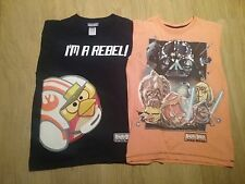 2 X STAR WARS ANGRY BIRDS NEXT T- SHIRTS