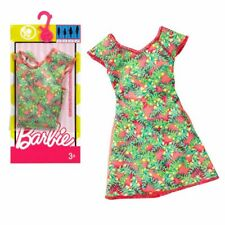 Kleid Retro Look | Barbie | Mattel DWG07 | Trend Mode Puppen-Kleidung
