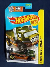 Hot Wheels NEW For 2015 Battle Kings Series #90 The Haulinator Green w/ 5SPs