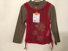 Brand New Pampolina  designer urban style 2 in 1 top age 3-4 years