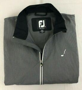 Footjoy FJ DryJoys Hydrolite Sz. Medium Full Zip Rain Performance Jacket!
