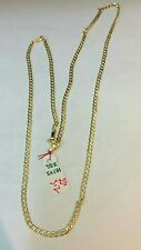 GoldNMore: 18K Gold Necklace Chain 3.2G 22 inches