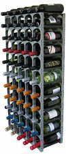 CellarStak Wine Racking System, Silver, 55/60 Bottle