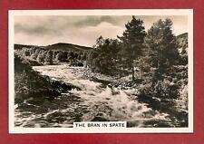 River Bran in spate ACHNASHEEN Strath Bran Loch Luichart 1939 photographic card